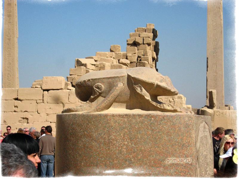 Skarabeusz święty Chrząszcz Ze Starożytnego Egiptu