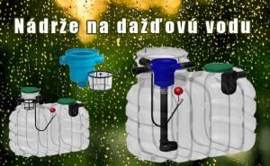 nádrže na dažďovú vodu