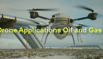 drone application oil and gas