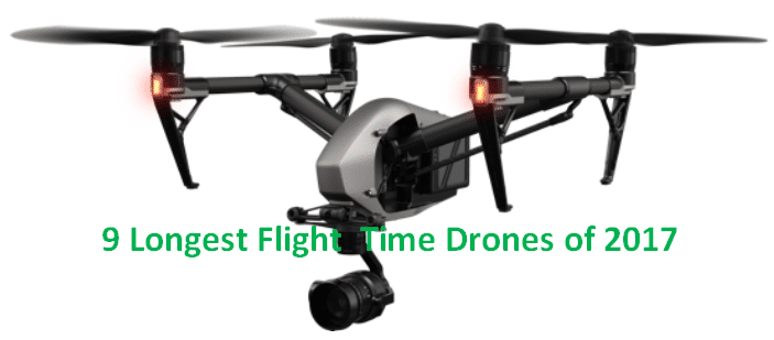 flight time of Drones
