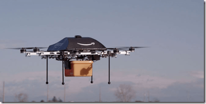 delivery drones work