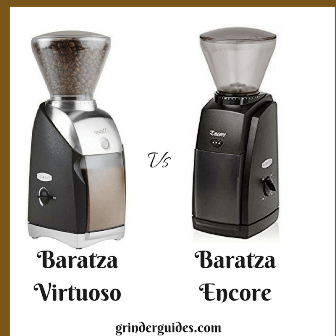 baratza encore vs virtuoso coffee grinder reviews