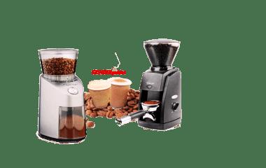 comparision-baratza encore vs capresso infinity coffee grinder