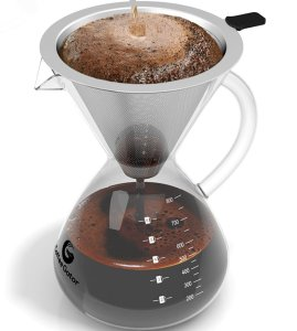 pour over coffee maker hand drip coffee