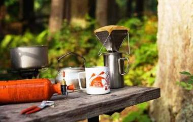 how to brew coffee while camping
