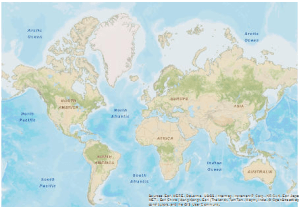 How to Remove ESRI BaseMap Credit from the Layout Window