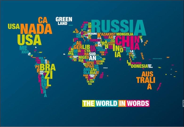 Typographic Maps: