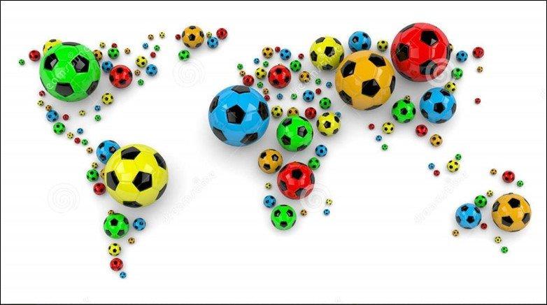 Soccer World Map
