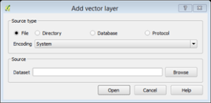 add vector layer window