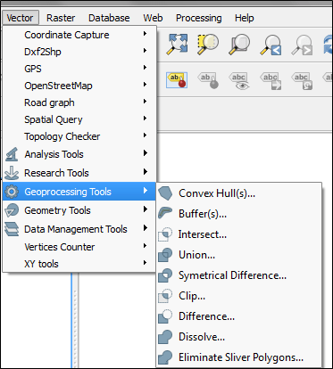 Basic Editing Geoprocessing Tools in QGIS