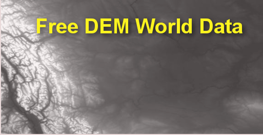 Free World DEM Data D In Your Computer - Worlddem