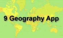 9 geography app