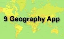 9 geography app