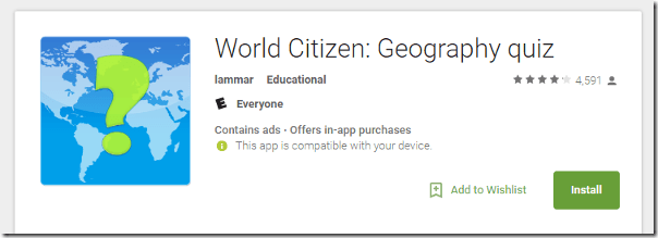 9 best geography apps world citizen geography quiz gumiabroncs Choice Image