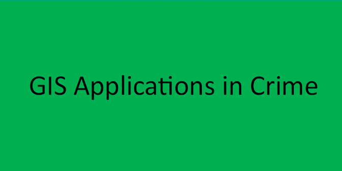 GIS Applications in Crime