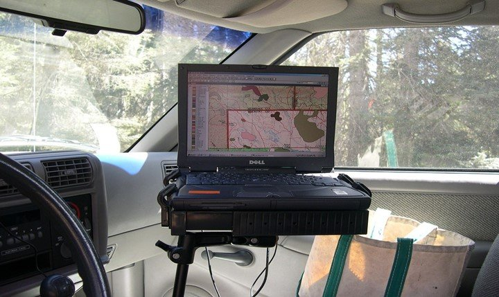 Application of GPS in forestry