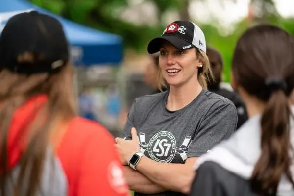 Laura Stacey Sticks in for Charity Road Hockey Tournament, Toronto, ON, 2019