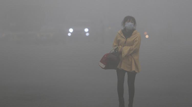 空汙環境下運動有害老年人
