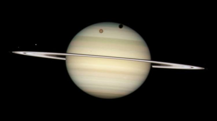 土星成為太陽系中衛星最多的行星
