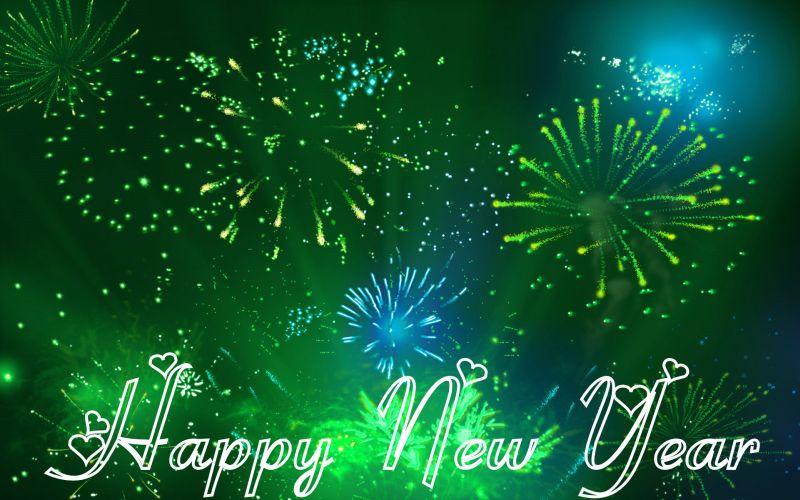 green happy new year