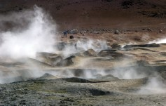 Bubbling hot geysers. source: gringoinbolivia