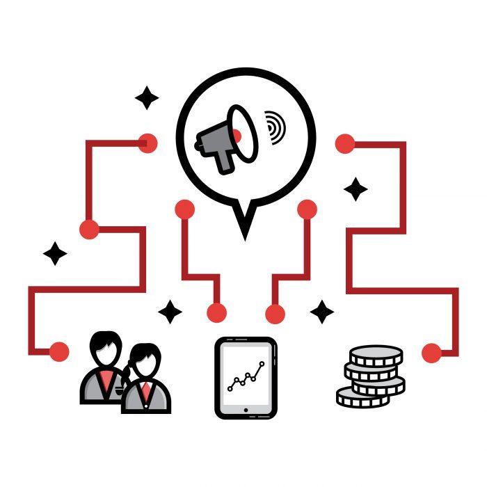 Bespoke icon design - Marketing