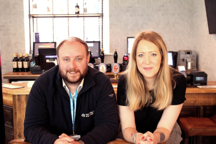 Office rebrand Q&A with Kate Adamson an James Howard