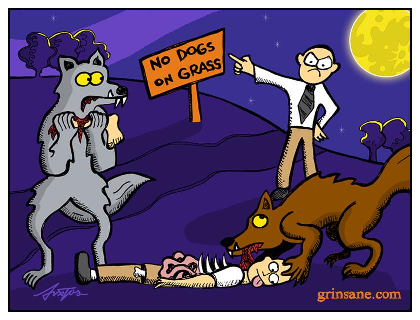 Werewolves in Public Parks Outrage