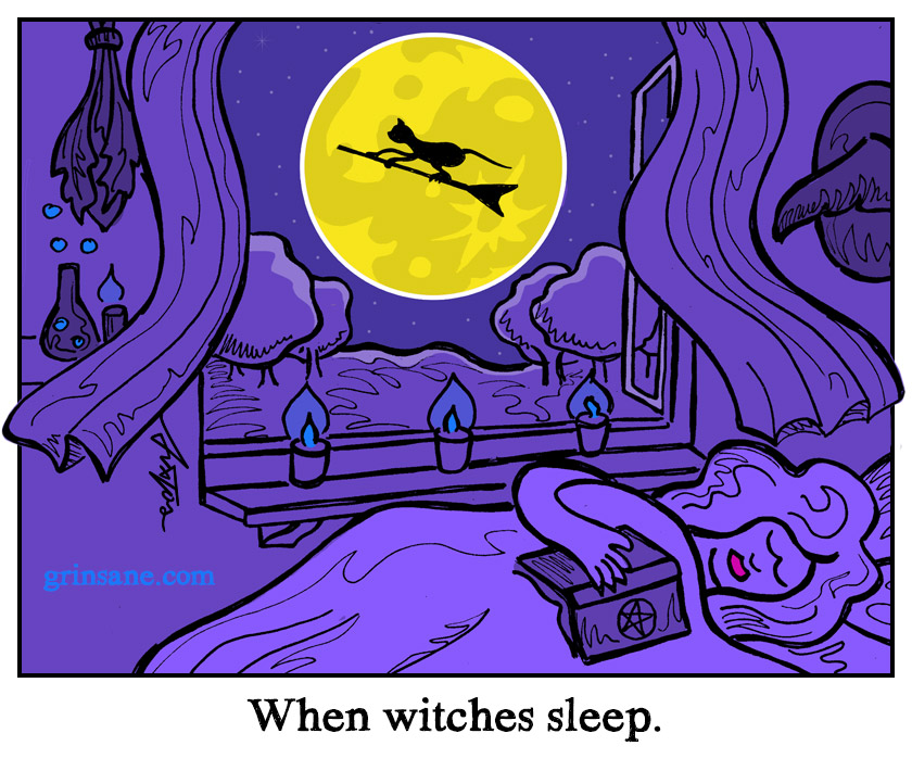 When Witches Sleep