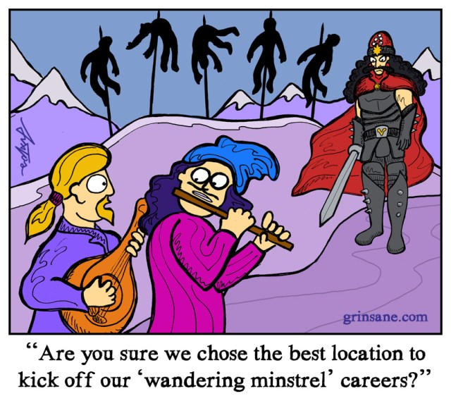 Vlad the Impaler Cartoon