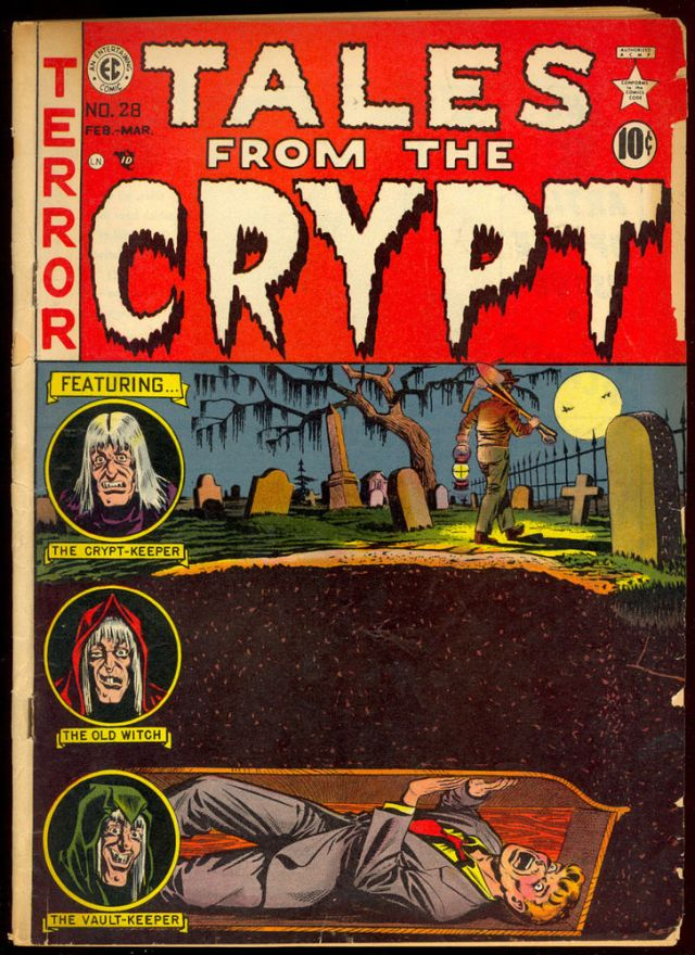 EC Tales from the Crypt buried alive