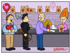 Cupid and Psycho Valentine Cartoon