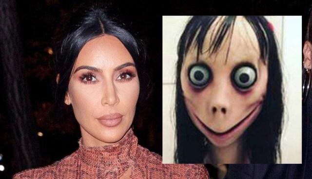 Kim Kardashian and Momo