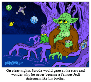 Scroda Star Wars Cartoon Comic