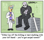 Jason Voorhees Carpal Tunnel Syndrome