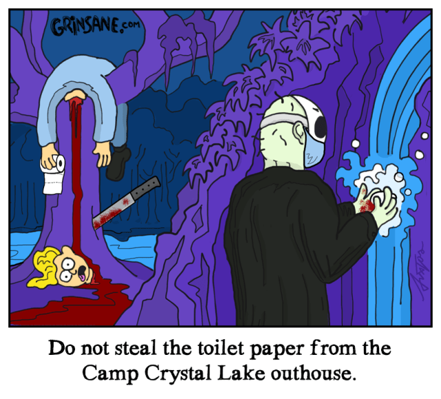 Camp Crystal Lake Coronavirus Comic