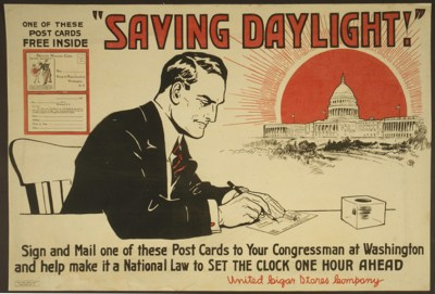 Dayling Saving Postcard