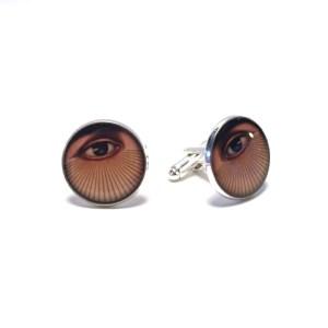Photo of All-Seeing Eye Cufflinks