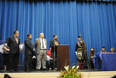 North Quabbin Lodge A.F. & A.M. Make a presentation to the Duke of Atholl