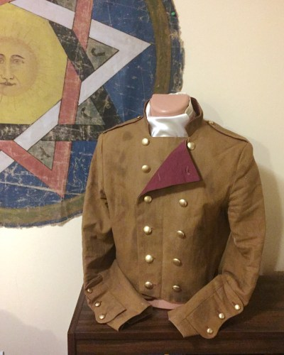Photo of Finished Jacket buttoned closed