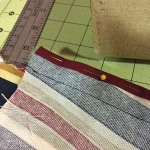 """Photo of 1/4"""" seam binding"""