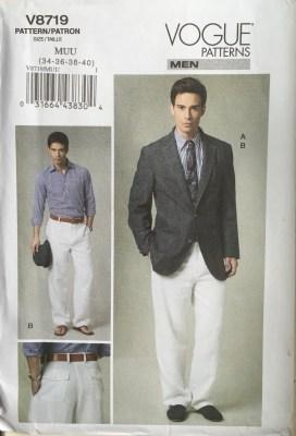 Photo of Vogue 8719 Pattern Envelope