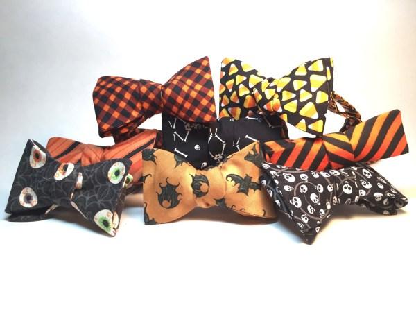 Photo of assorted Halloween Bow Ties