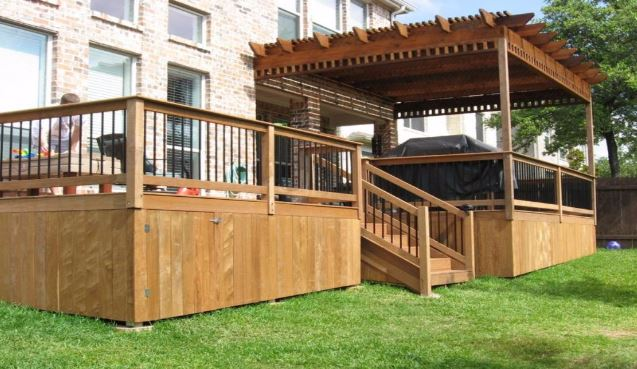deck skirting ideas