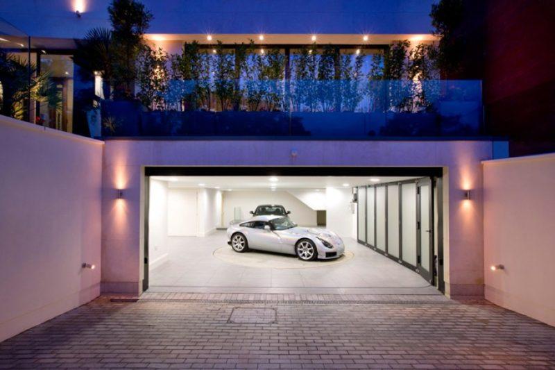 garage lighting ideas no electric