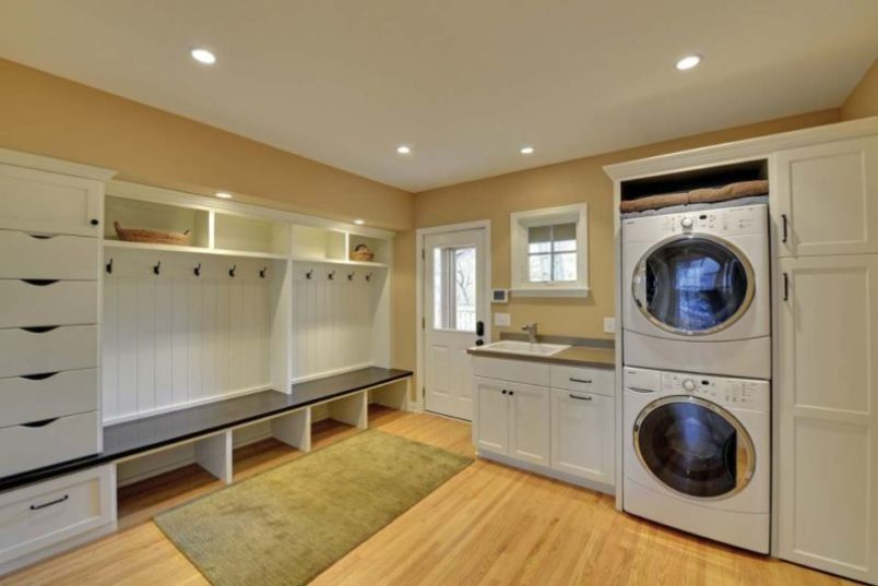 37 unique and cool basement laundry room ideas remodel - Laundry room remodel ideas ...