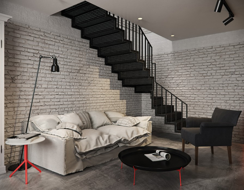 white brick wall living room 30 best ideas about living rooms with white brick walls 19439