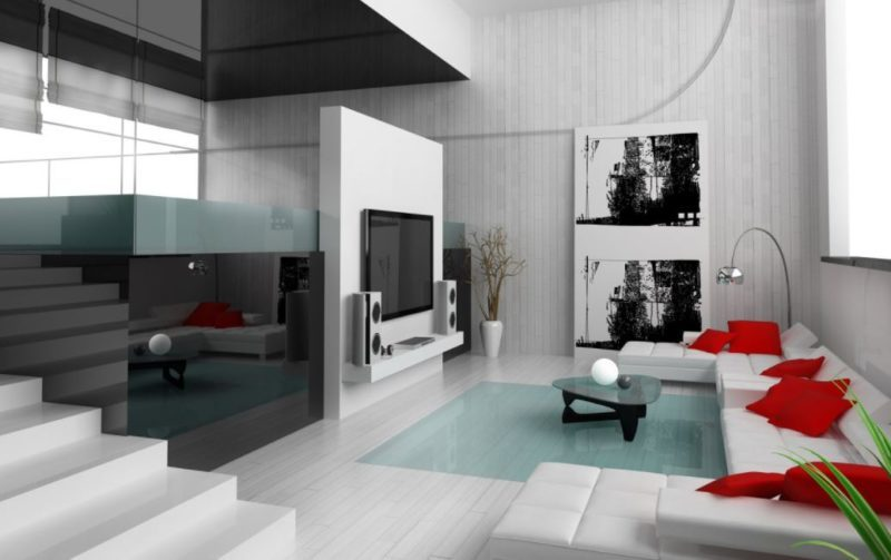 male living space bedroom