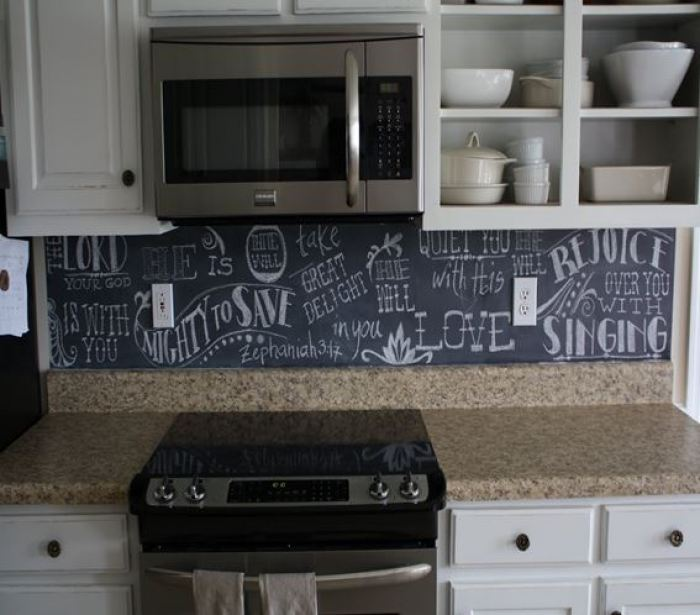 chalkboard kitchen