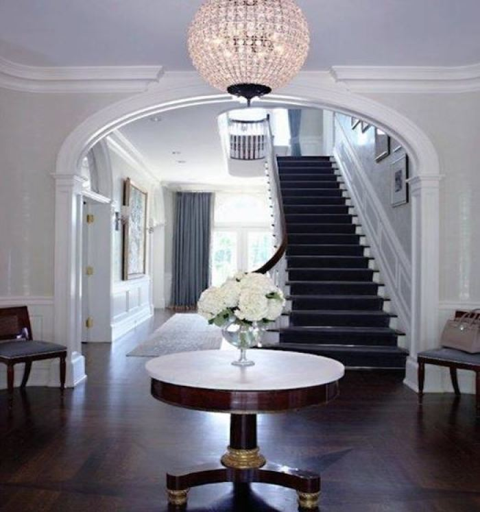 elegant entry table